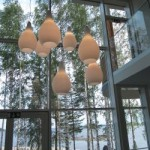 Lighing fixtures at the Kuopio Housing Fair